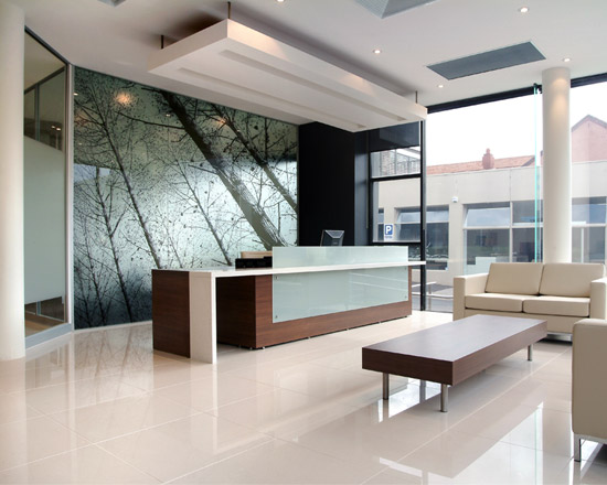 Project office interiors design and project management for Freelance interior designer